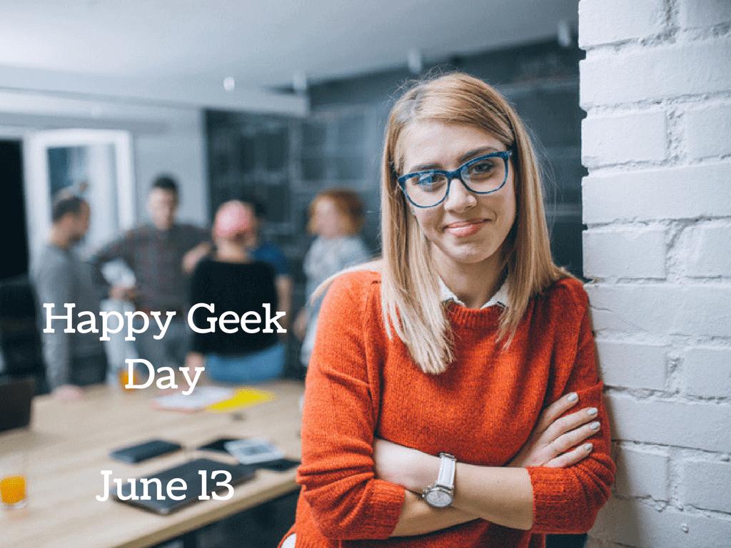 Happy Geek DayJune 13